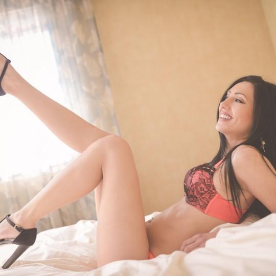 Femme en sous vetement sexy