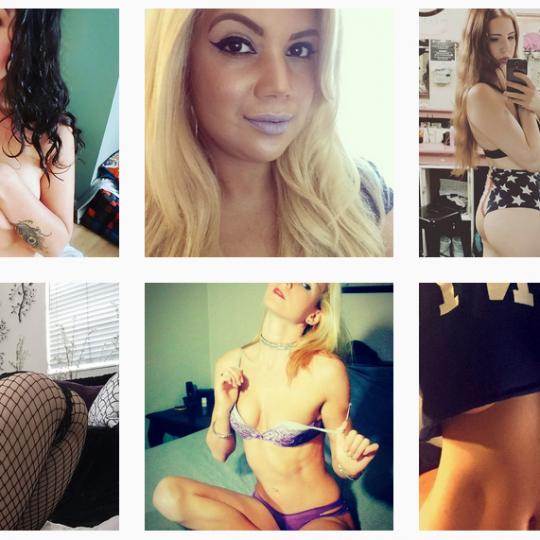 Jolies femmes instagram