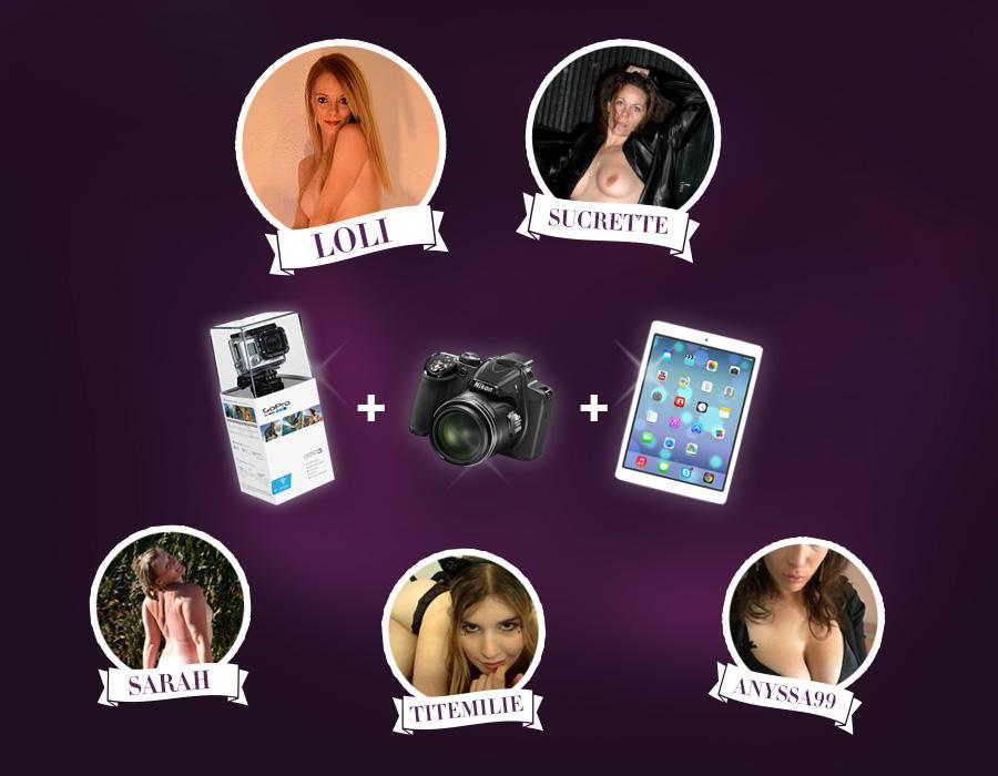 Hotesses gagnantes